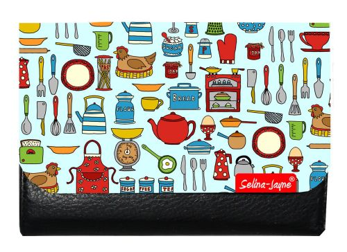 Selina-Jayne Kitchen Utensils Limited Edition Designer Small Purse